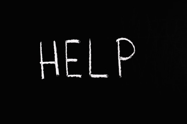 Napis Help