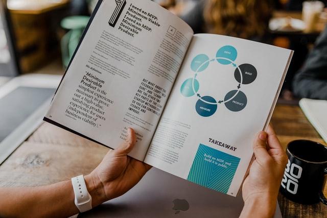 Książka o zarządzaniu.
